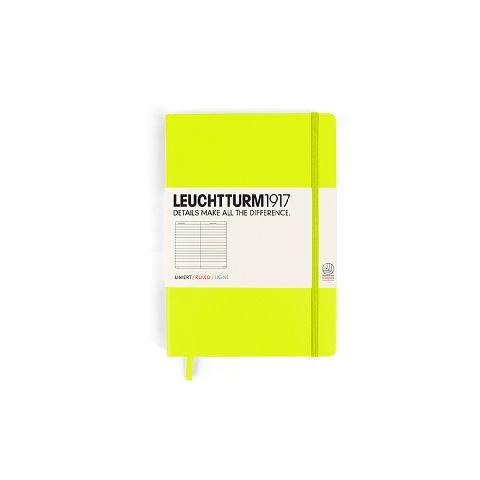Caiet Leuchtturm A5,249f,dict,galben neon