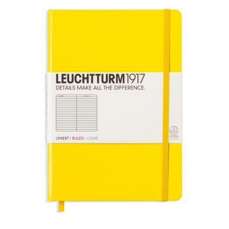 Caiet Leuchtturm A5,249f,dict,lemon
