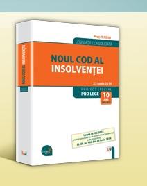 NOUL COD AL INSOLVENTEI....