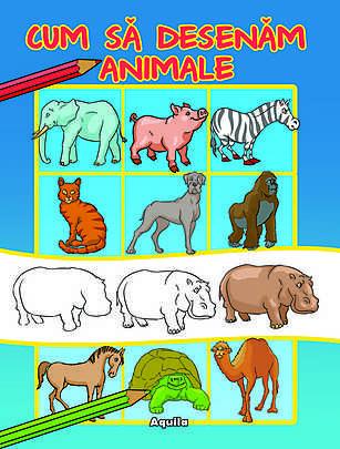 CUM SA DESENAM ANIMALE HU