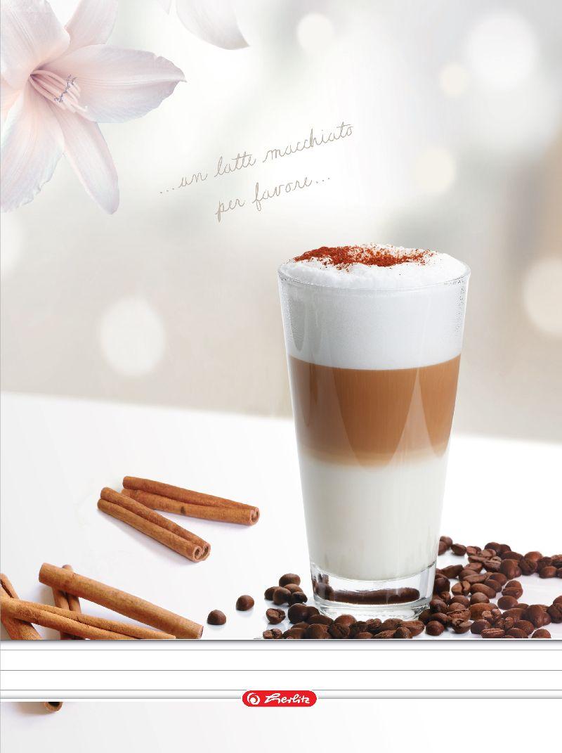 Caiet cu spira A4,70file,Coffee,dictando