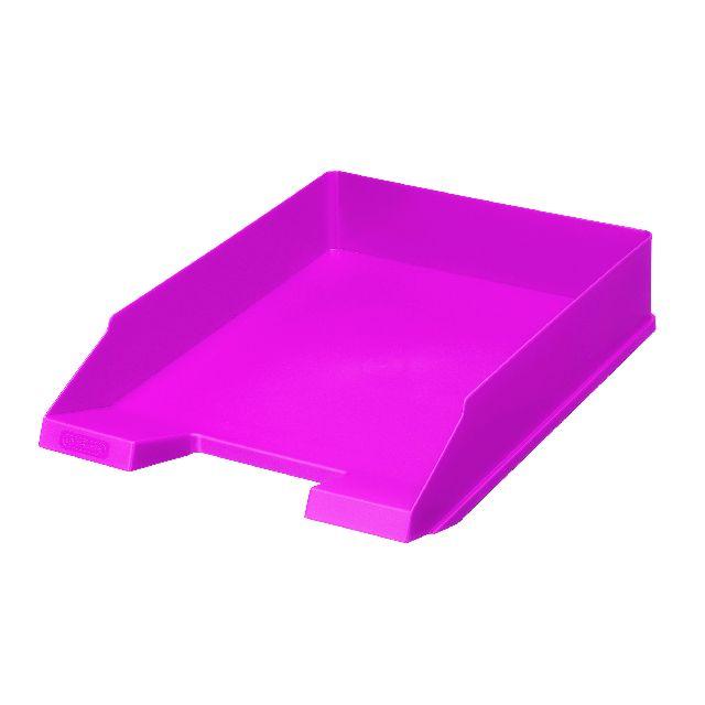 Tavita documente A4,Clasic,roz electrizant