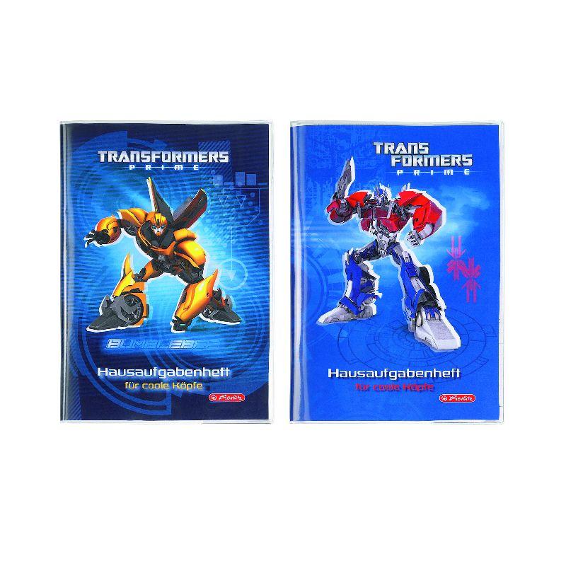 Caiet A5,48file,coperta tare,Transformers