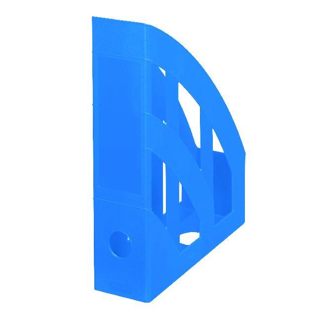 Suport documente A4,PP, albastru intens