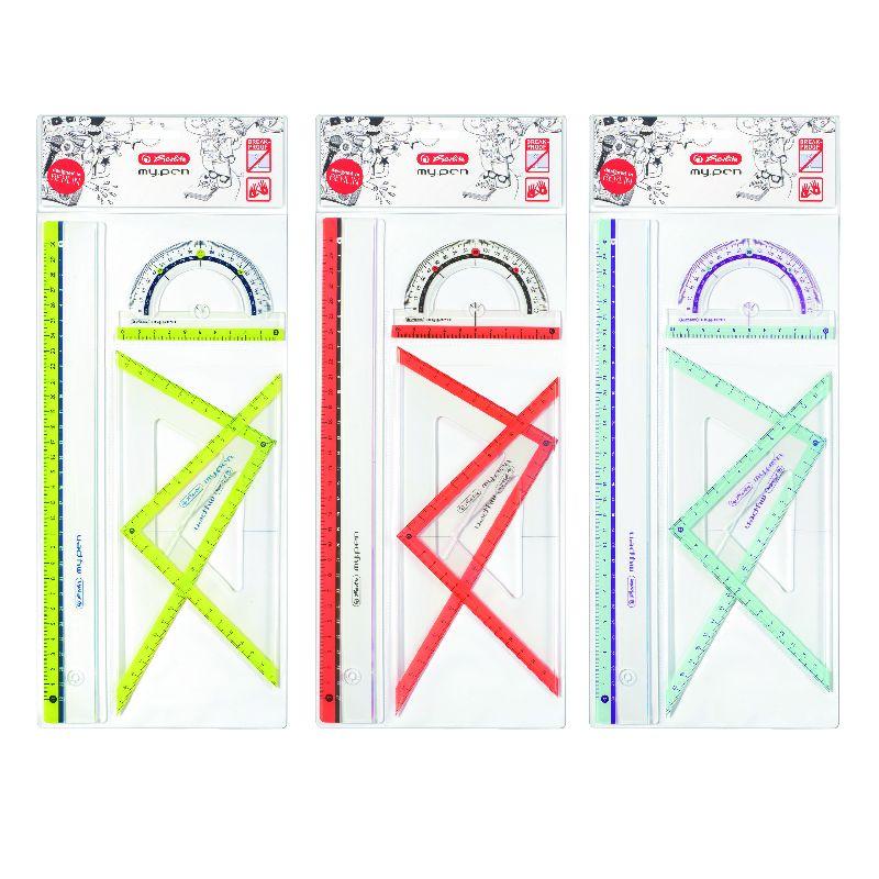 Set geometrie My.Pen,4piese