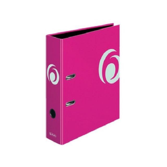 Biblioraft A4,8 cm,roz electrizant