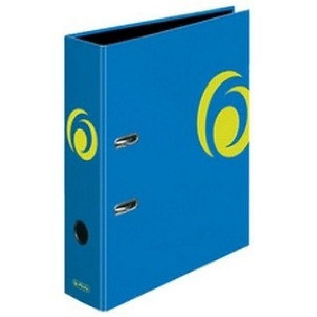 Biblioraft A4,8 cm,albastru intens