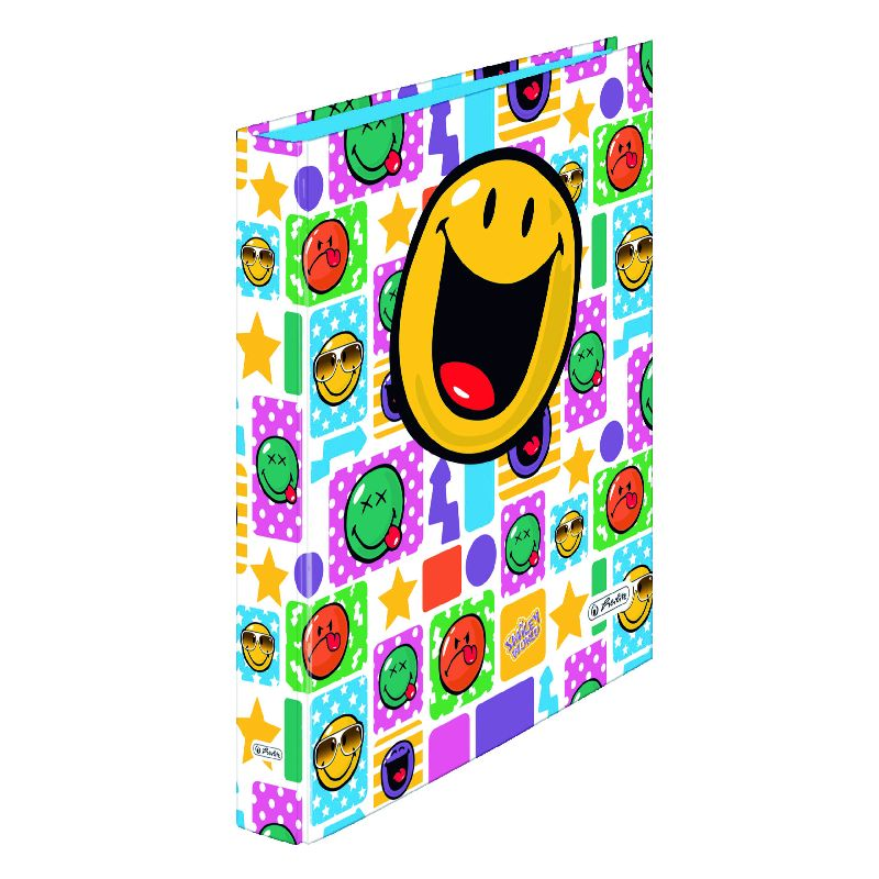 Caiet mecanic A4,PP,2in,Smiley Happy