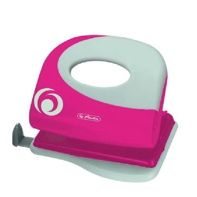 Perforator,capacitate 2mm,roz electrizant
