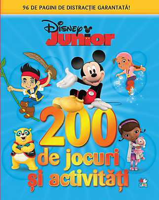DISNEY. 200 DE JOCURI SI ACTIVITATI