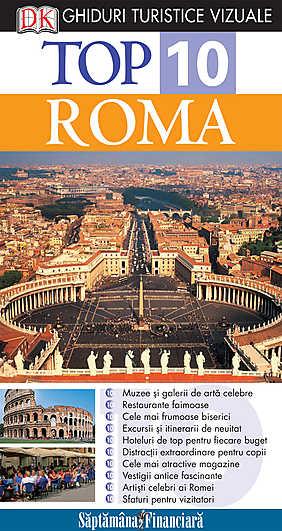 TOP 10 ROMA. GHID TURISTIC VIZUAL EDITIA 3