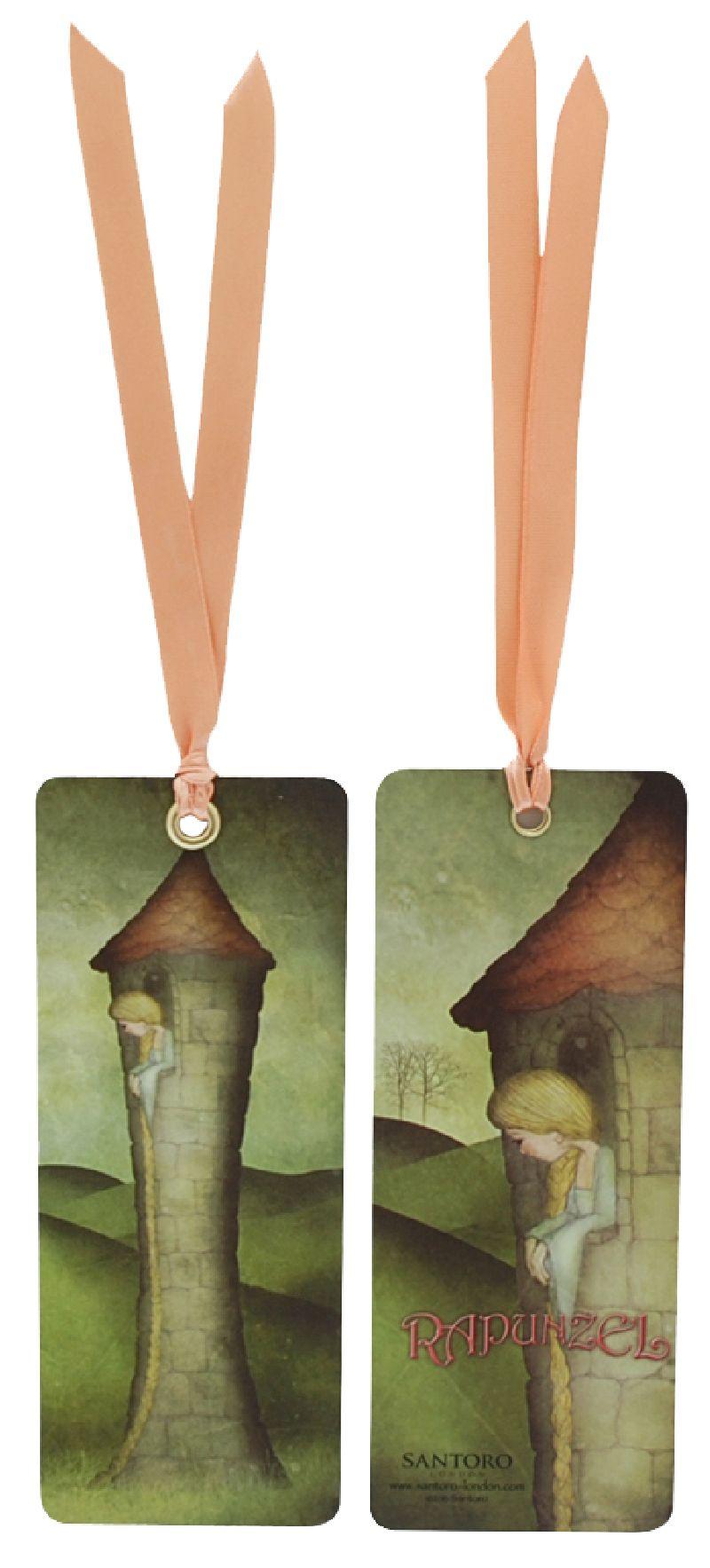 Semn de carte Rapunzel