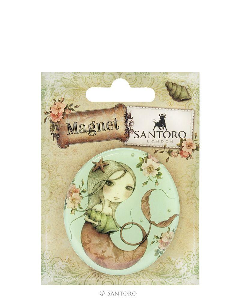Magnet rotund Mergirl