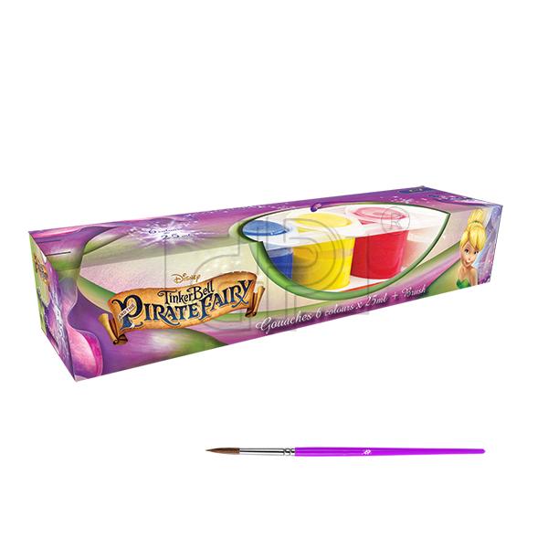 Guase 6 culori,pensula,Fairies