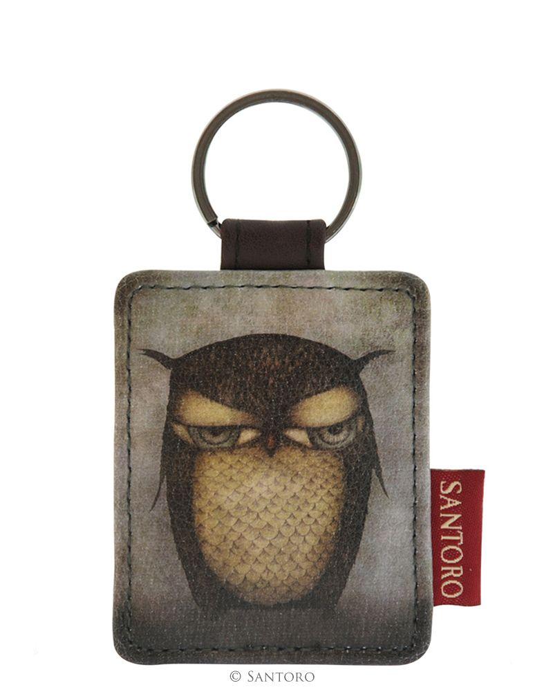 Breloc pentru chei,Grumpy Owl