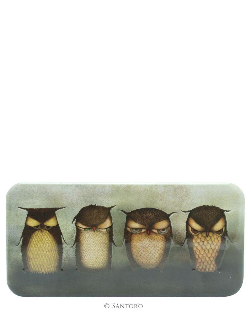 Penar metalic Grumpy Owl