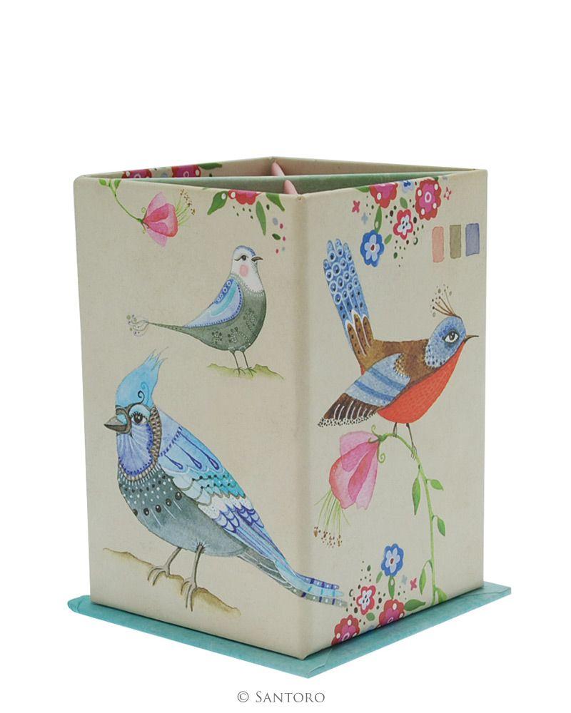 Suport instrumente Watercolour Birds