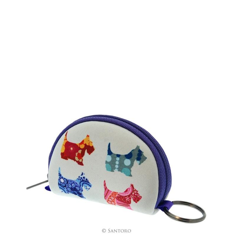 Geanta accesorii,9x7.5x3cm,Scottie Dog