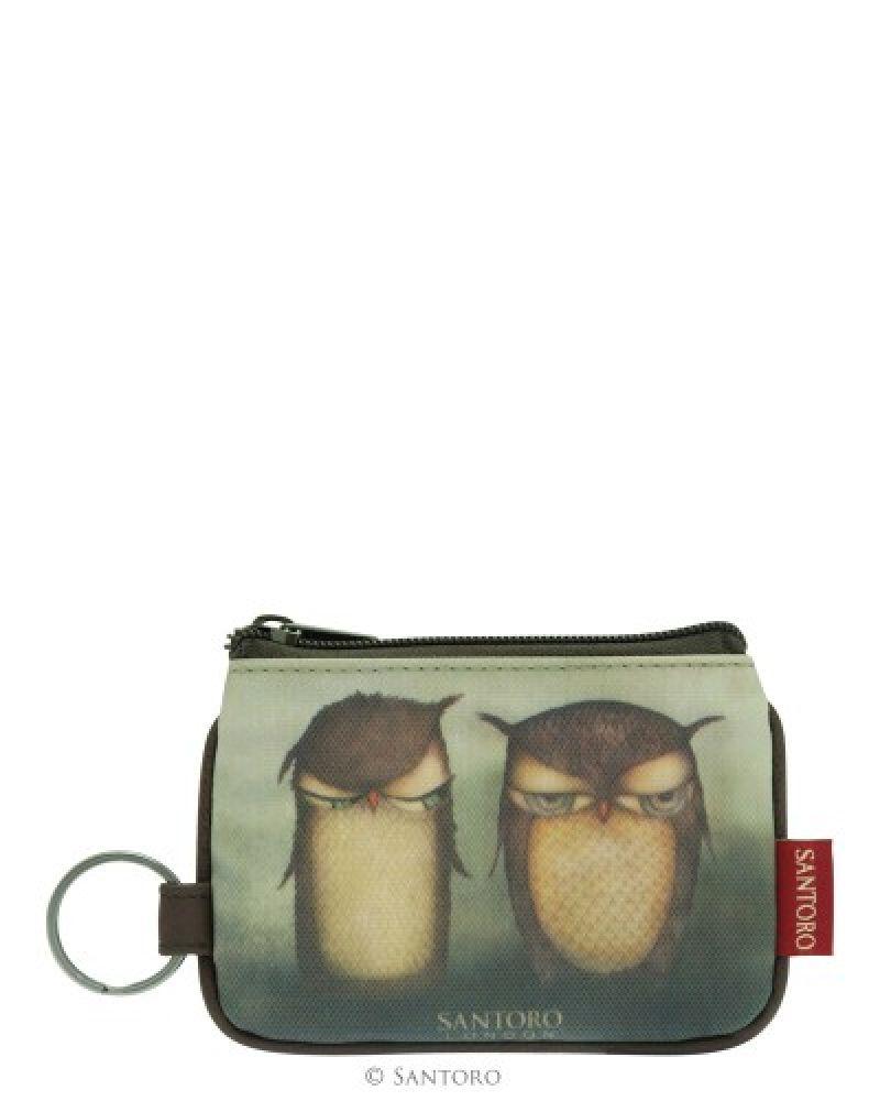 Portofel monede,12x9x1cm,Grumpy Owl