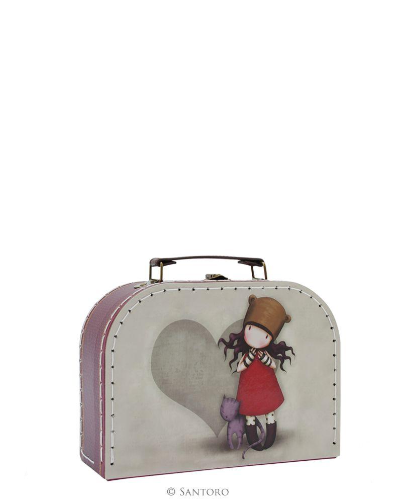 Cutie tip valiza,20x15x8cm, Purrrrrfect Love