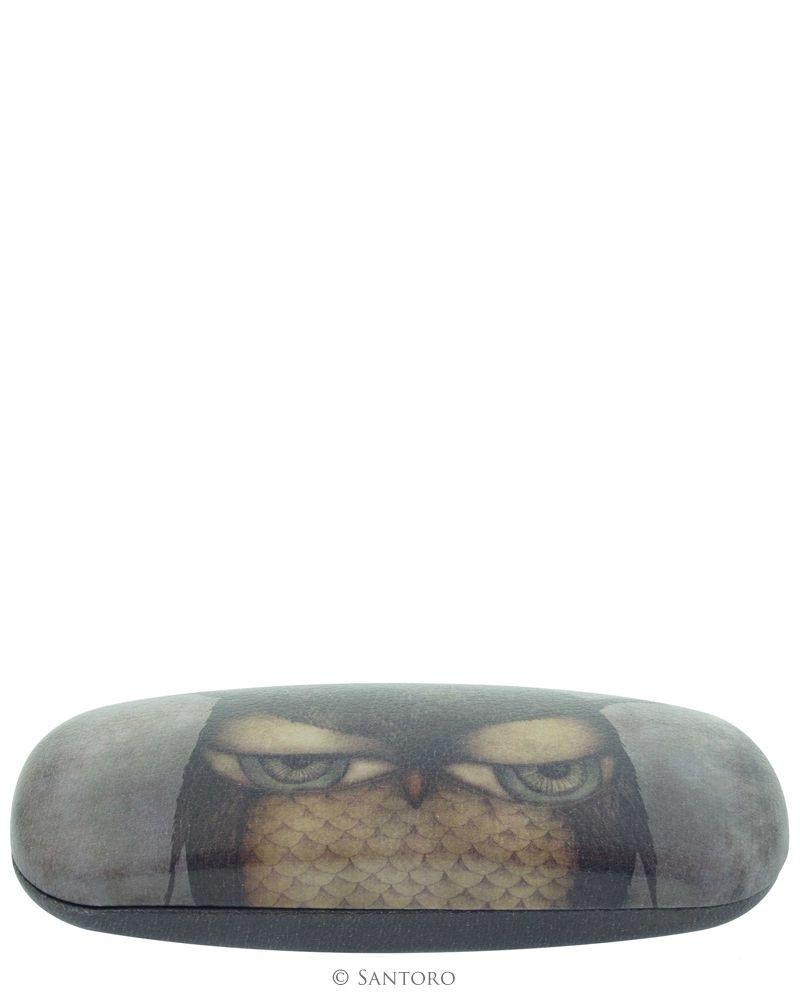 Etui pt ochelari,17x6x3cm,Grumpy Owl