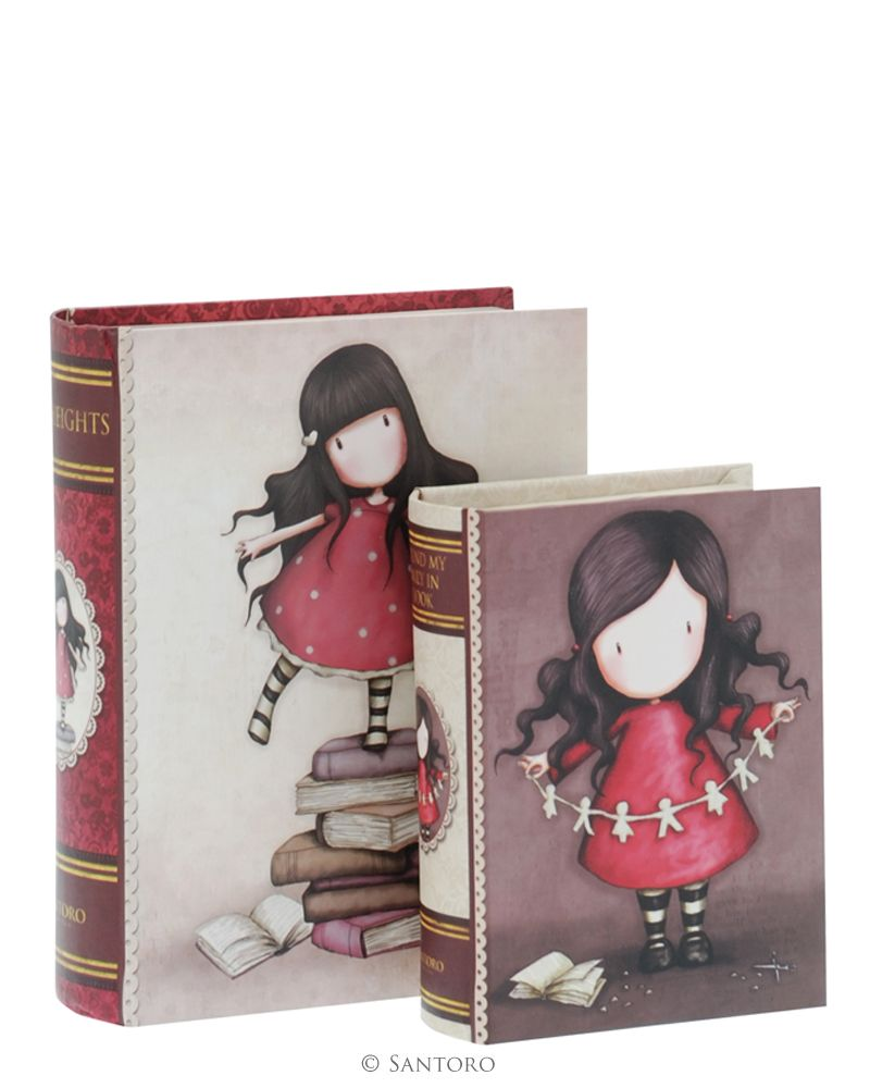 Cutii forma carte,2buc,New Heights/Family in a Book