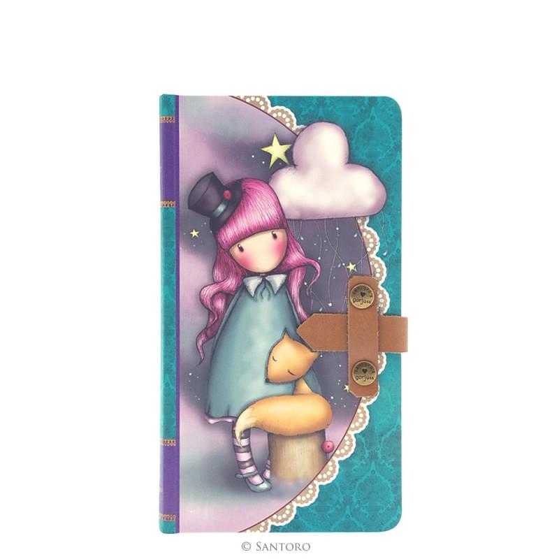 Jurnal 13x22cm,inchidere piele,Hush Little Bunny