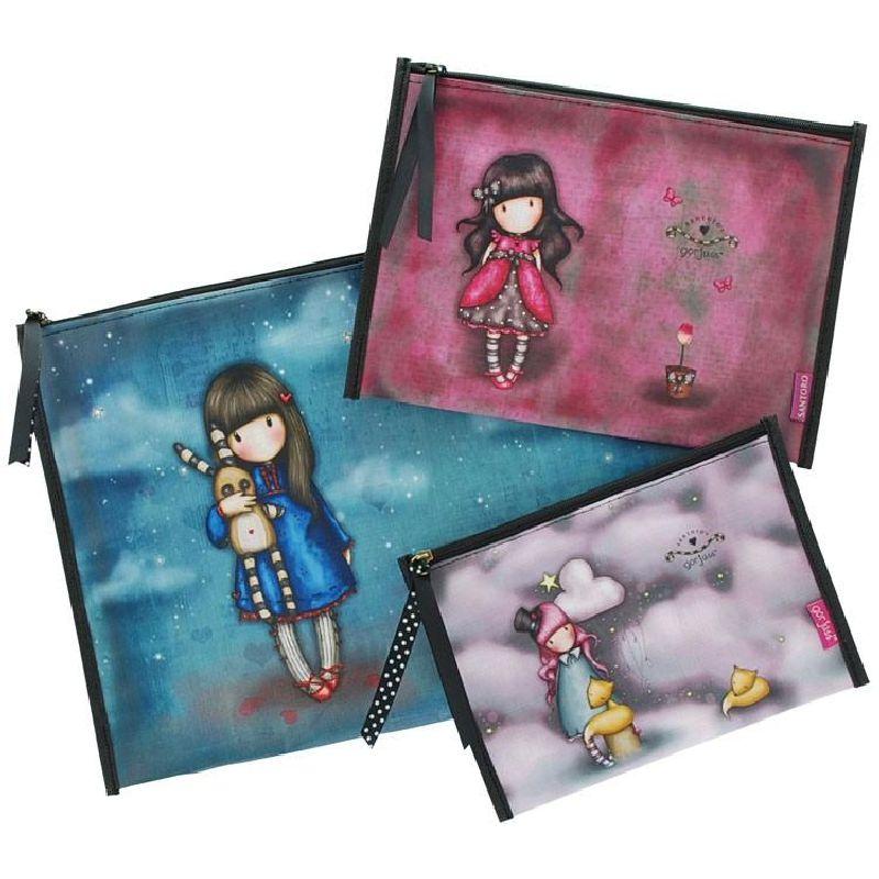 Pouch,3buc/set,Hush Little Bunny, Ladybird, The Dreamer