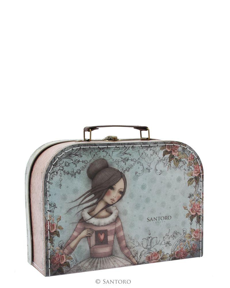 Cutie tip valiza,26x18x9cm,The Secret