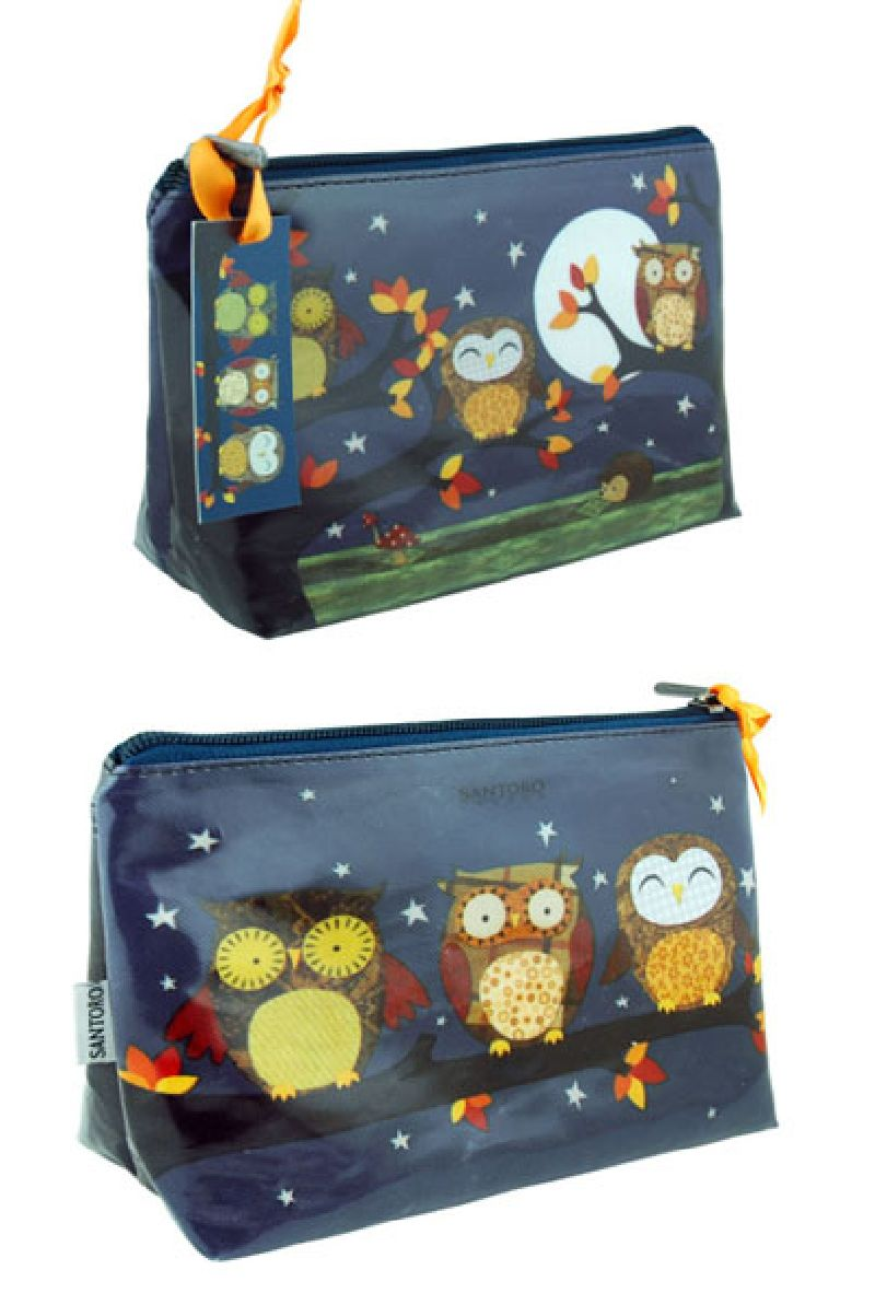 Geanta cosmetice,23x19x9cm,Night Owls