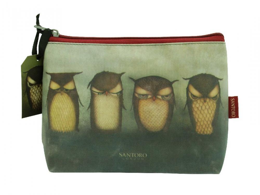 Geanta cosmetice,23x19x9cm,Grumpy Owl