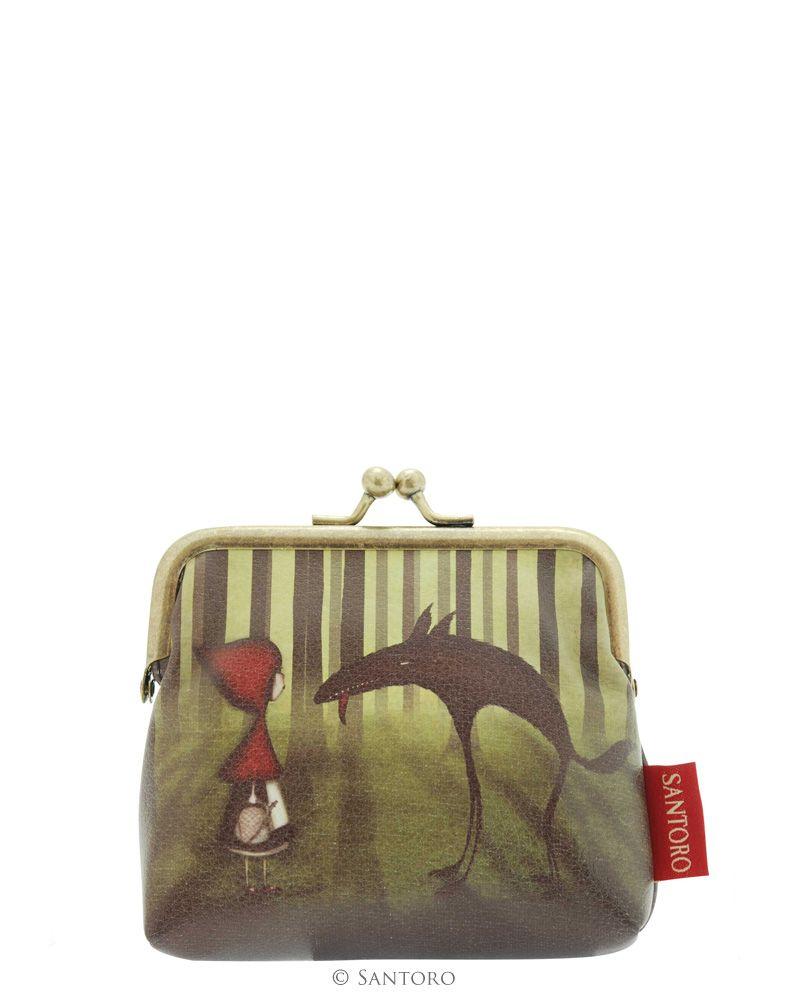 Portofel monede,10x10cm,Red Riding Hood