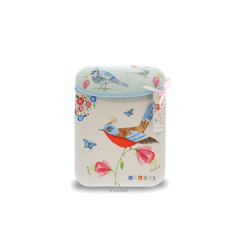 Husa iPad Watercolour Birds