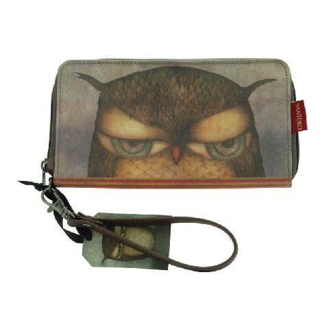 Portofel,10x20x3cm,Grumpy Owl