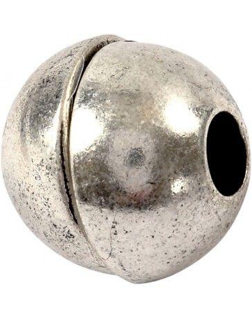 Inchizatoare magnetica,13x14mm,argint