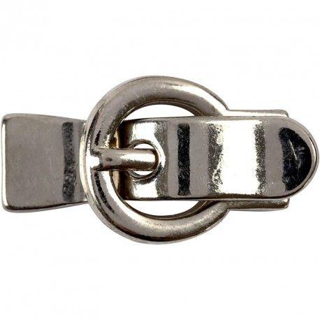 Inchizatoare magnetica,21x40mm,argint