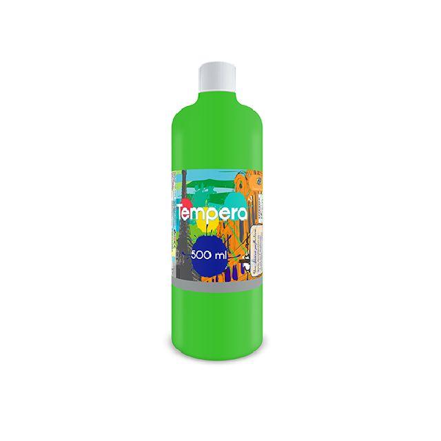 Tempera,500 ml,verde