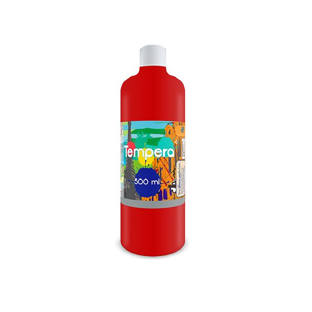 Tempera,500 ml,rosu