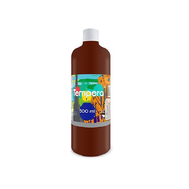 Tempera,500 ml,maro