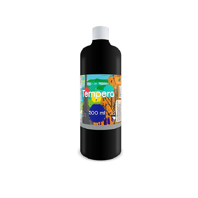 Tempera,500 ml,negru