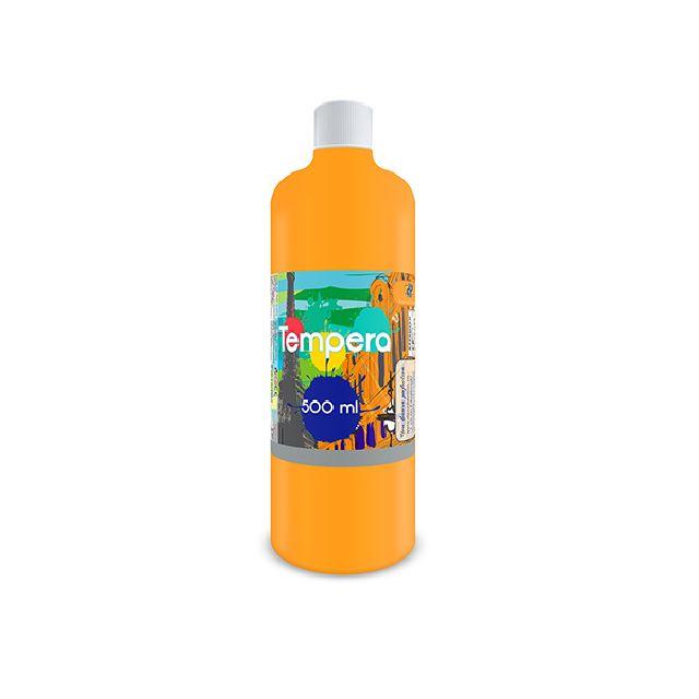 Tempera,500 ml,portocaliu