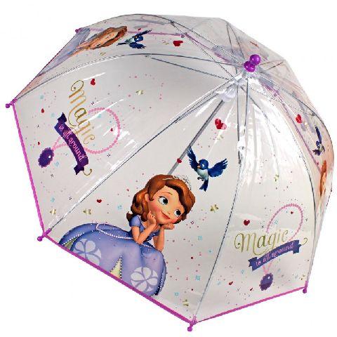Umbrela tranparenta 45cm,Sofia Intai