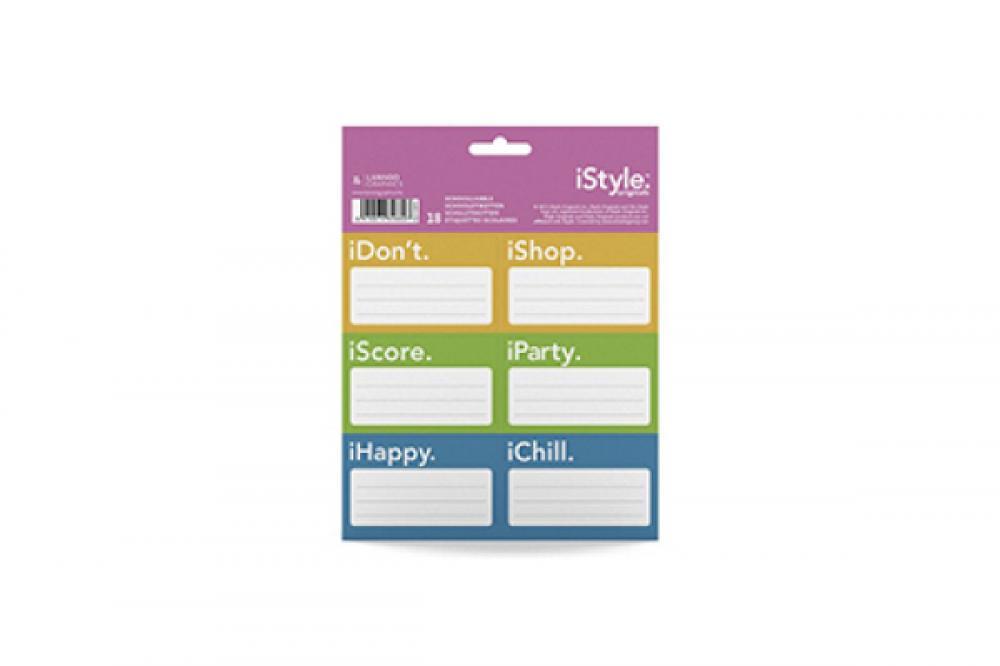 Etichete scolare,18/set,iStyle