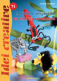 ANIMALE IMPLETITE CU TEHNICA SCOUBIDOU - IDEI CREATIVE 71