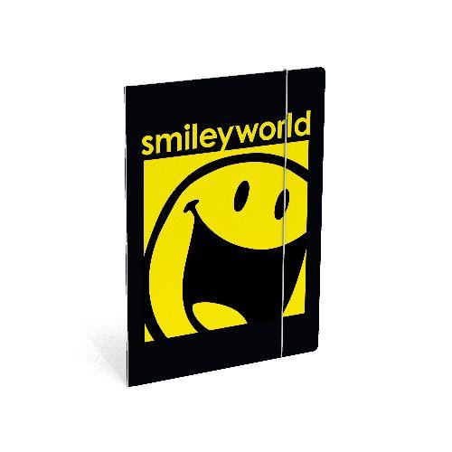 Mapa cu elastic,A4,Smiley World