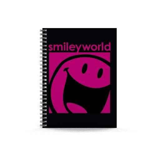 Caiet spira A5,80f,dict,Smiley World