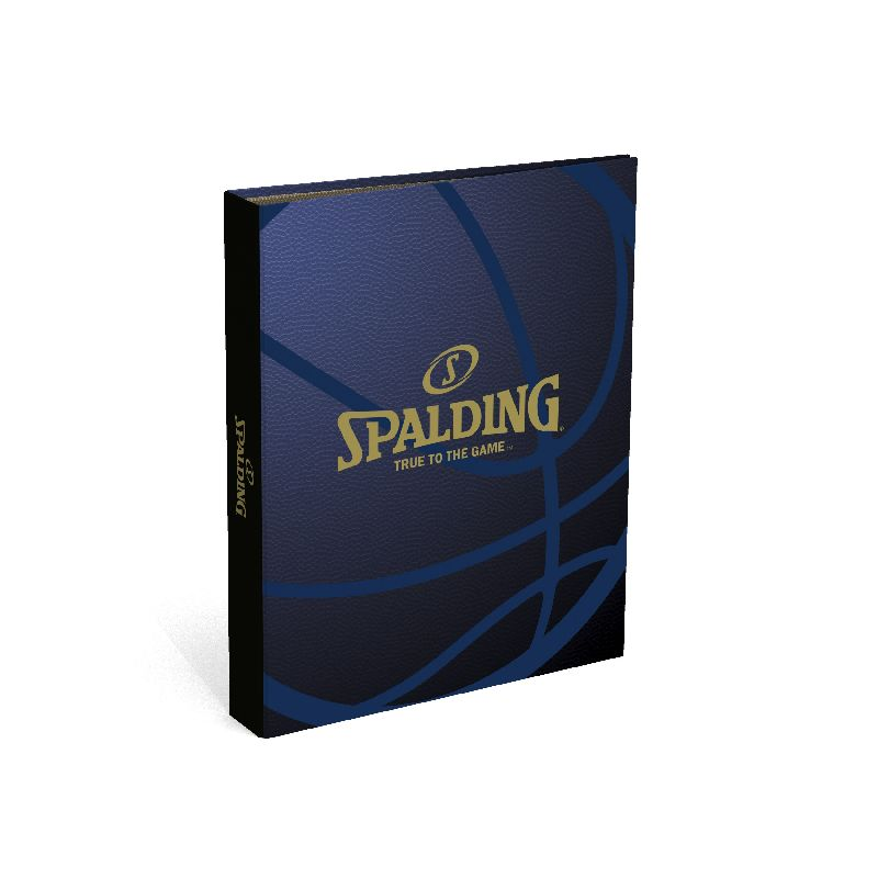 Caiet mecanic A4,2in,Spalding,maro/albas
