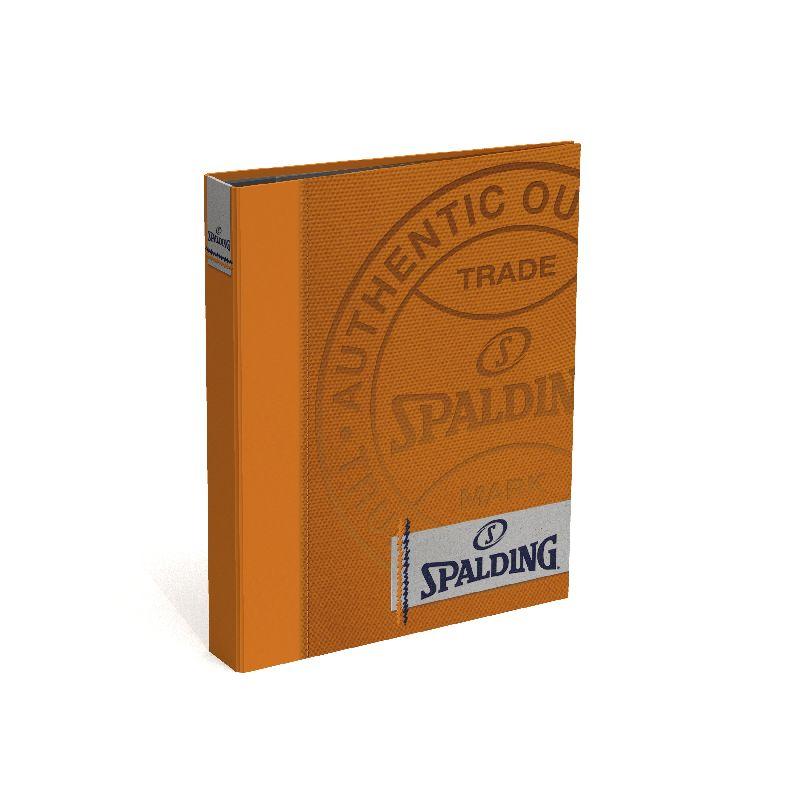 Caiet mecanic A4,2in,Spalding,gri/orange