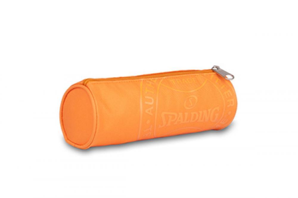 Pouch rotund 23x8cm,Spalding,gri/orange