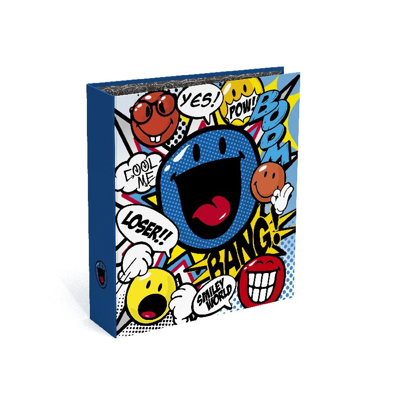 Biblioraft A4,8cm,Smiley Cartoon